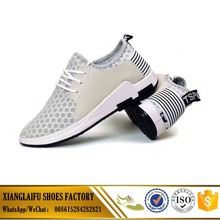 Wholesale white casual shoes men sneakers cheap mesh shoes