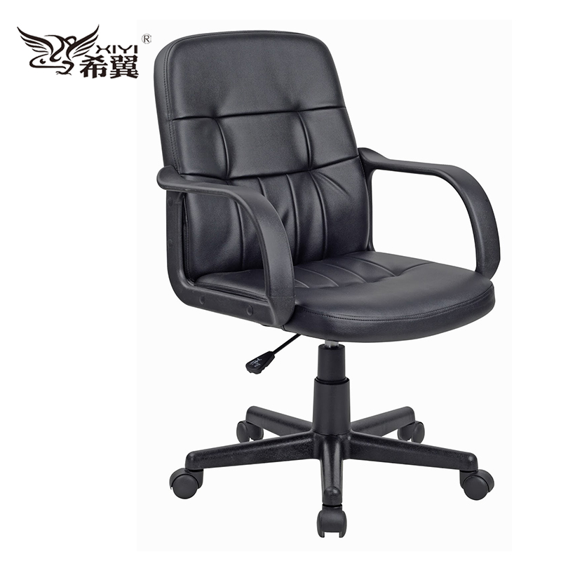 Lowest Price Medium Back screw lift fixed base meeting office chair