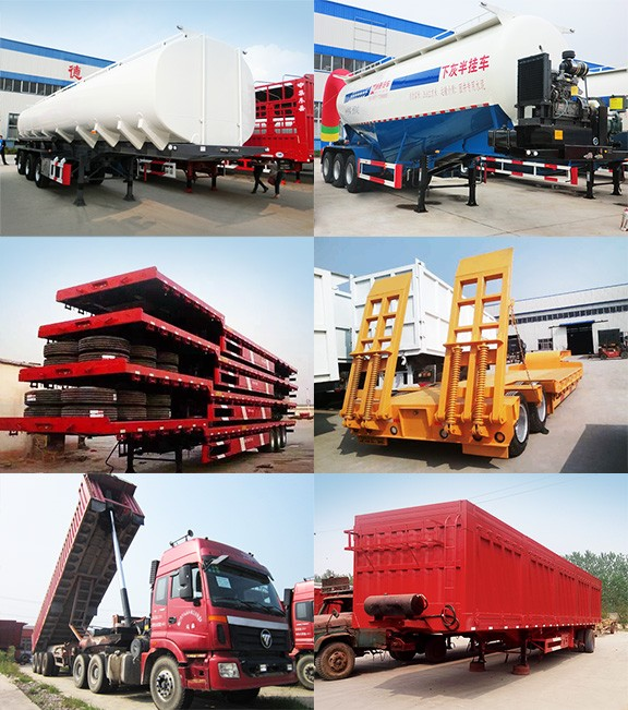 Guangzhou MAOWO Hot sale 3 axle 40ft flatbed container semi trailer price