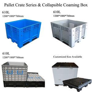1200*1000 large folding plastic Pallet Crate