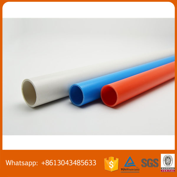 uPVC Cable Bending Conduit with Full Size Various Thicknesses Professional Customized Supplied by Guangdong Manufacturer