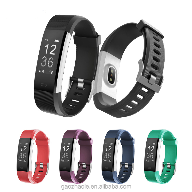 Amazon Ebay Hot Sale ID115HR PlUS Bluetooth Smart Band Heart Rate Monitor Fitness Tracker Wrist Band Made In China фото