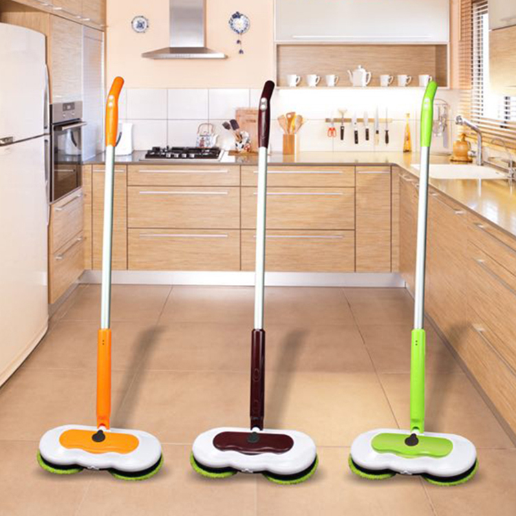 Wireless electric mop cleaner lazy electric spin floor mop machine