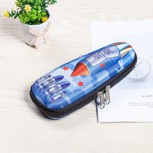 Пенал в виде оленя, чехол-карандаш из искусственной кожи, школьные карандаши(Китай)