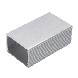 Custom aluminum profile enclosure aluminum extrusion box for pcb inverter power suppler