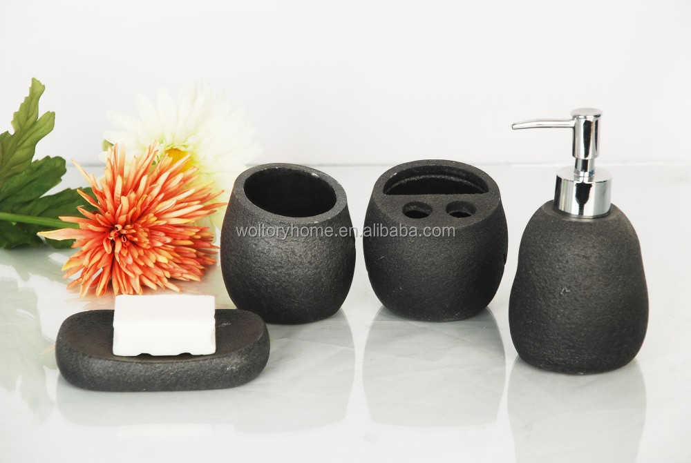 Newest Artifical Stone houseware decor accessories set