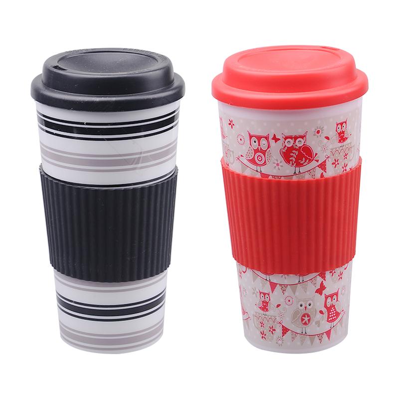 16oz Plastic Coffee Mug Cup Supplieranufacturers At Alibaba
