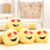 Custom wholesale cheap plush emoji keychain
