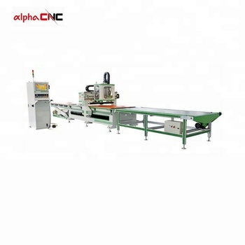 ATC automatic loading panel woodworking ATC cnc router nesting machine for cabinet
