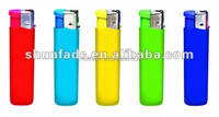 Colorful Refillable AS material Butane Electronic Lighter