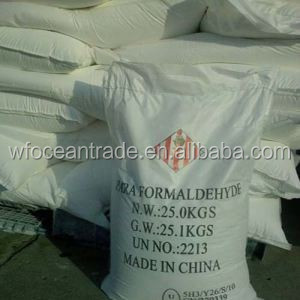 factory price white solid paraformaldehyde prilld/powder for resin, insecticide, herbicide, etc