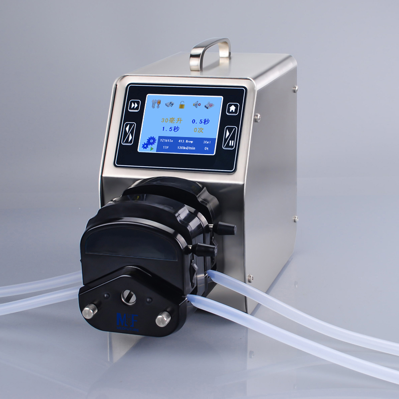 LCD Touch Screen Dispensing Peristaltic Pump for laboratory