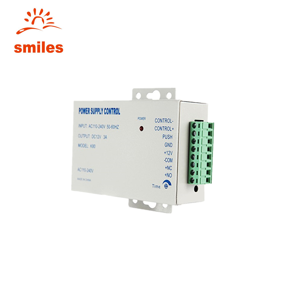 Hot! 12V 3A Switch Mini Power <strong>Supply</strong> For Door Access Control