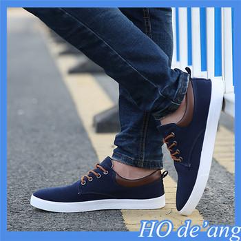 9b36e8065e 2018 New Canvas Shoes Men's Casual Shoes Breathable Shoe - Buy Men ...