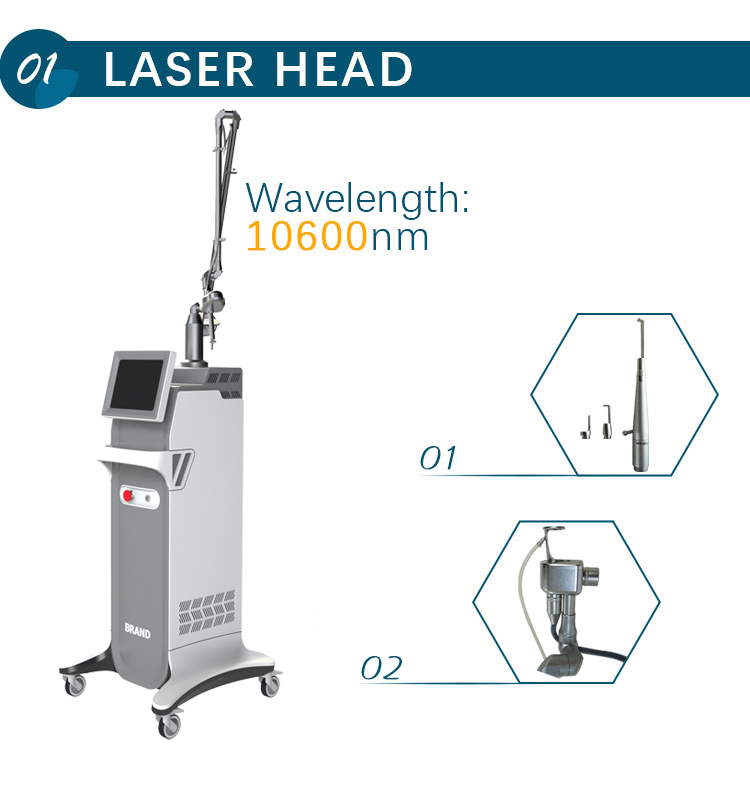Hot selling scar removal co2 fractional laser machine
