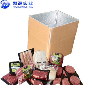 Insulated Frozen Carton Boxes for Transporting Ice Cream Shanghai Huizhou industrial