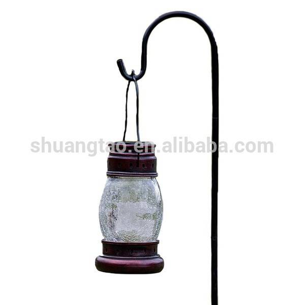 Top quality wrought iron shepherd hooks