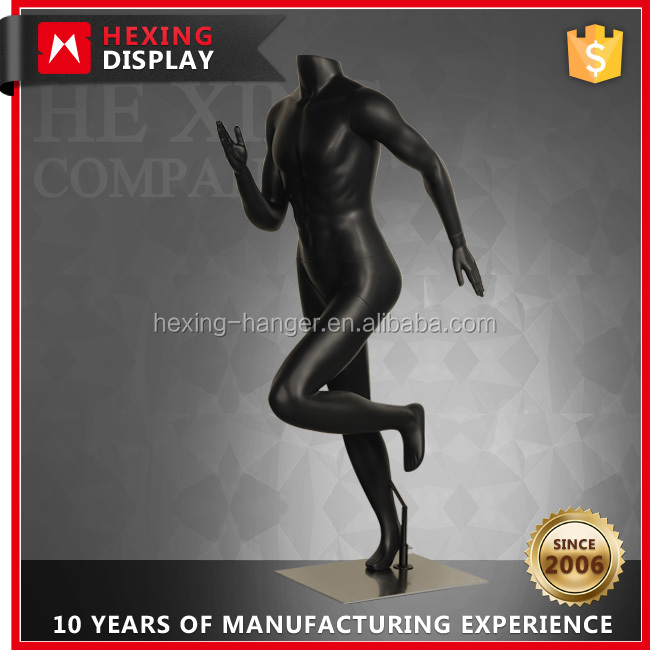 HX-TB-6SM050 Man Running Model Custom Male Sportswear Mannequin