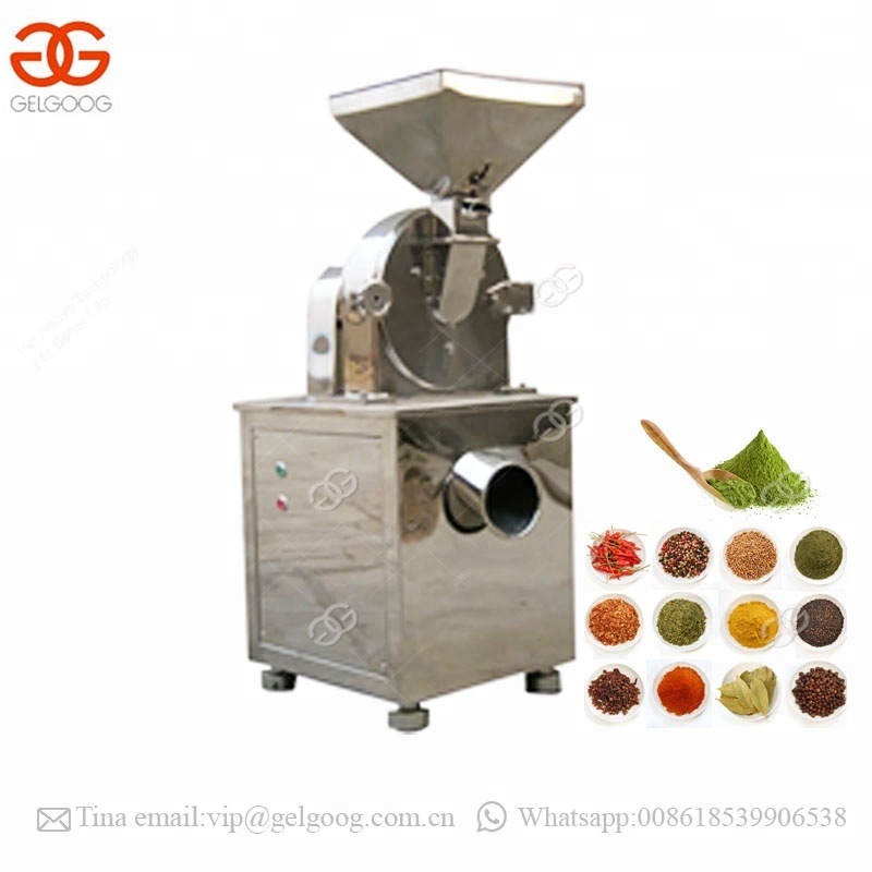 Small Onion Ginger Grinding Wheat Rice Powder Making Machine