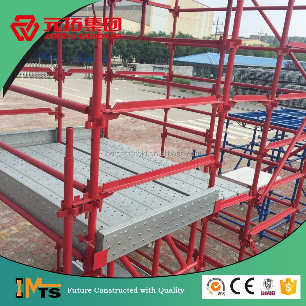 hire australia reliable painted construction platform steel kwik scaffold for bridge