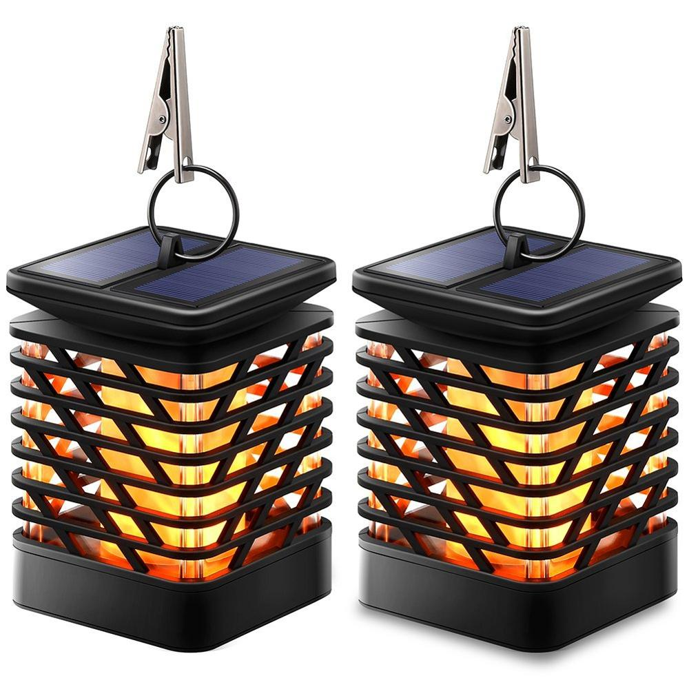 Waterproof Solar <strong>Lights</strong> Solar Lanterns Dancing Flame <strong>Outdoor</strong> Hanging Lanterns <strong>Lights</strong> <strong>led</strong> garden <strong>lights</strong>