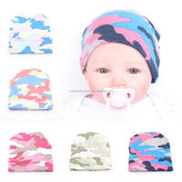 Knit Cotton Lovely Baker News Baby Boy Crochet Hat Cotton Knit Cap Hats Winter Warm Baby Beanie Printed Colorful Knit Hats