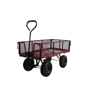Outdoor Utility Wagon Folding Collapsible Garden Wagon In Hand Truck