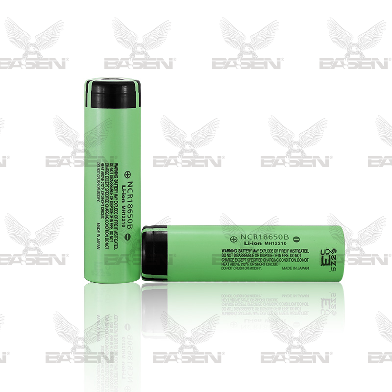 Original NCR18650B 3.7v 3400mah rechargeable batery for laptop