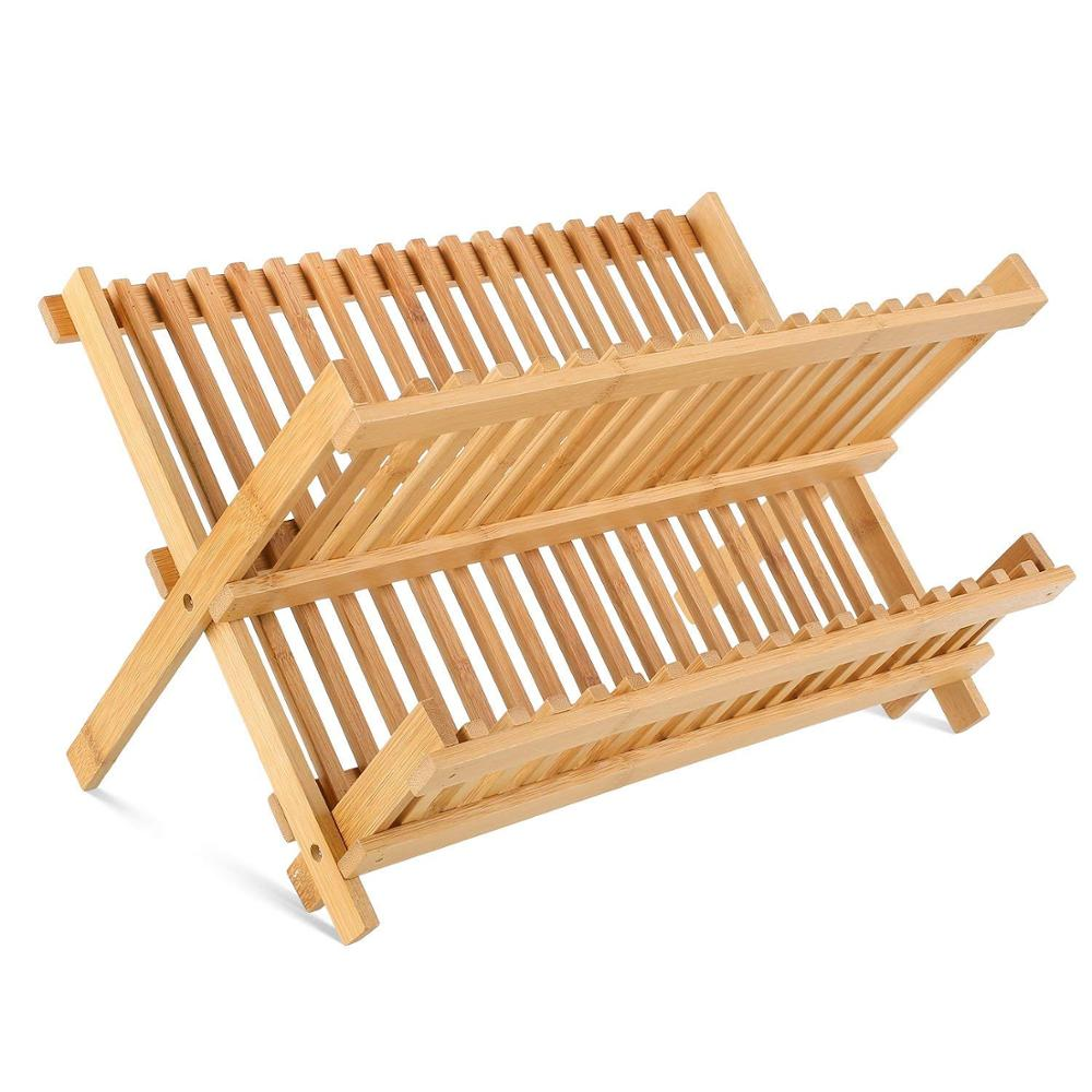 bamboo-dish-drying-rack-pull-down-dish