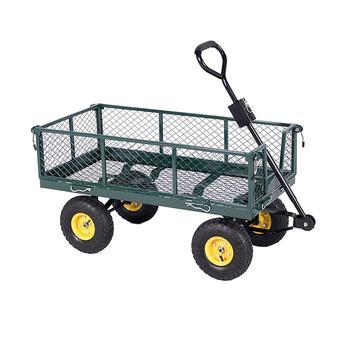 Good Quality Steel Mesh Garden Cart Used Garden Wagon Cart   Buy Garden  Cart Product On Alibaba.com