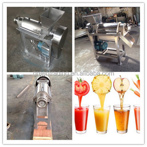 Factory directly sale mango juice processing machine