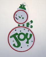 20*11.5cm Kids DIY paper Snowman Christmas