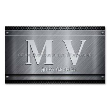 Oemodm brushed aluminum business cards buy aluminum business oemodm brushed aluminum business cards colourmoves