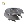 Customized Stainless steel unshrouded impeller for pump usage