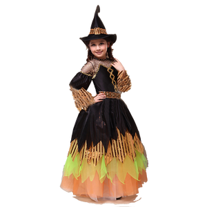 Halloween magic girl party cosplay dress for stage performance