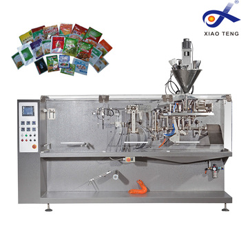 Automatic plastic big bag form filling and sealing machine with powder