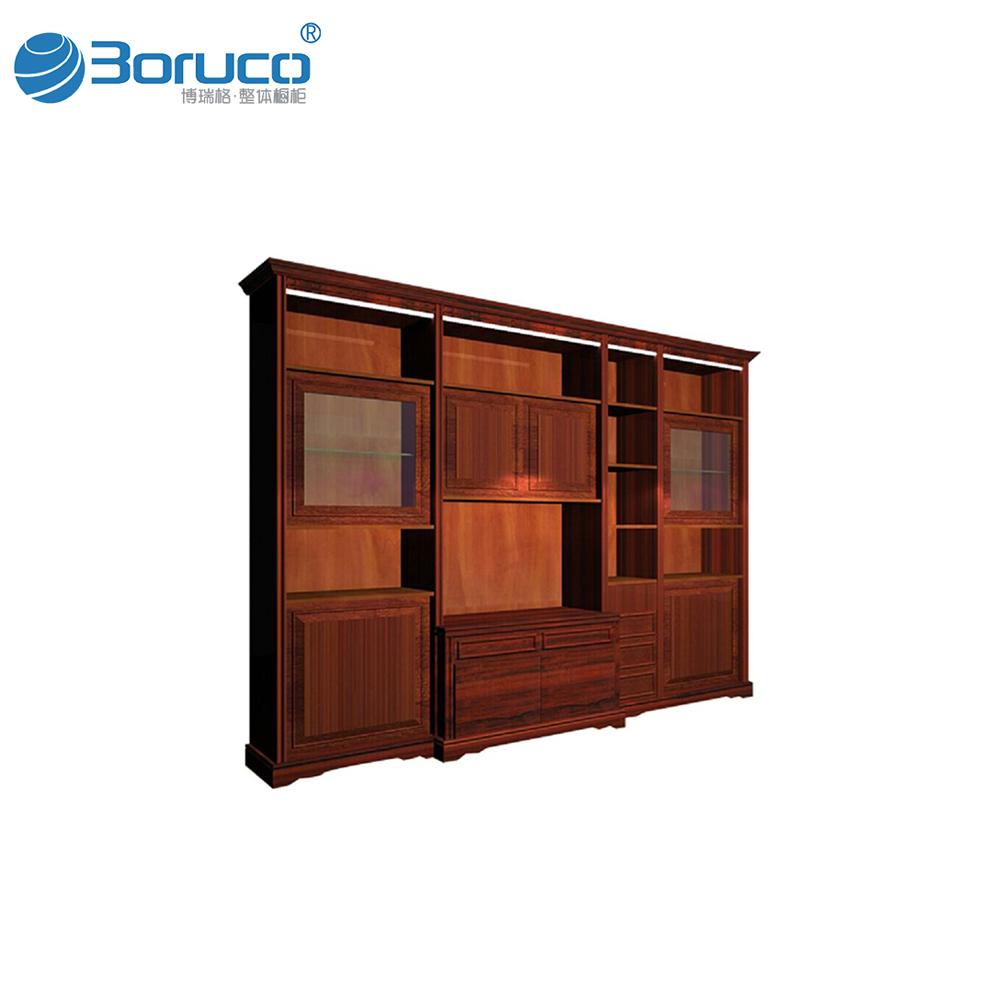Modern Furniture Living Room Entertainment Wall Unit Gl Showcase Design