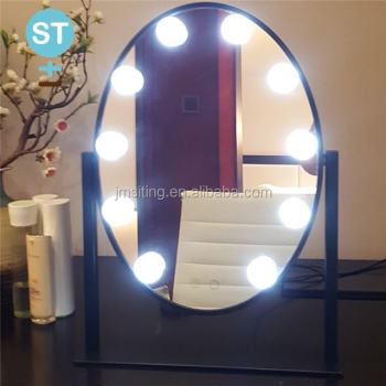 Modern Makeup Mirror Vanity Led Light Bulbs Kit For Dressing Table With Dimmer And Supply