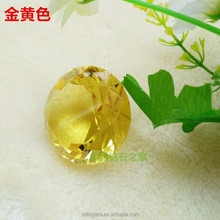 ZS-004 Faceted Decorative Sunny Crystal Glass Diamond for Wedding Souvenirs