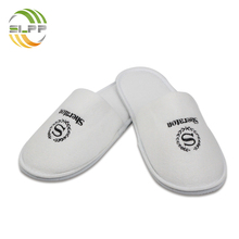 Chinese embroidered velvet cotton washable slippers hotel supply