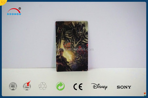 flip 3D sticker 3 moving image with movie character