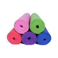 Hot sale manufacturer eco friendly natural rubber organic non slip fitness foldable home exercise high-quality pvc yoga mat