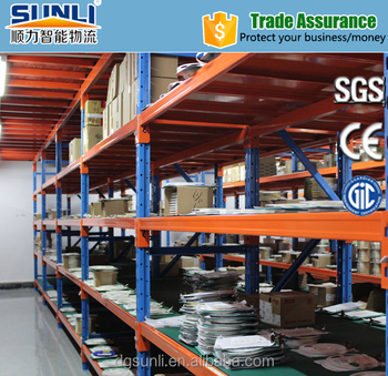 steel decking rack system industrial metal shelvingmr002 - Industrial Metal Shelving