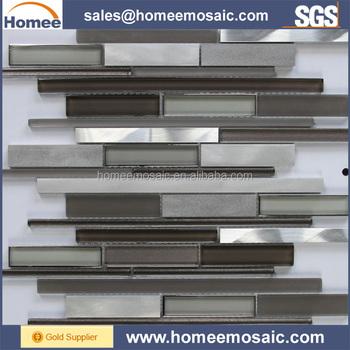 manufacturer wholesale cheap glass mosaic kitchen