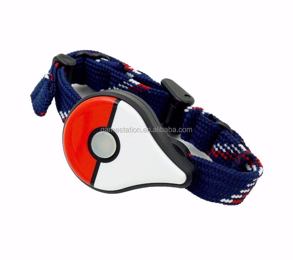 Factory PRICE 2017 Hot sale Cute exclusive Pokemon Go Plus <strong>bluetooth</strong> vibrating smart bracelet