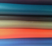 shining PU coated 1680D high quality fabric for baby car