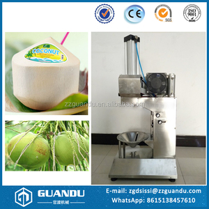 High quality coconut dehusking machine / coconut peeling machine / coconut cutting machine