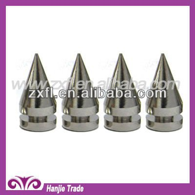 Wholesale metal fence spikes with Screw Back for Leather Bag