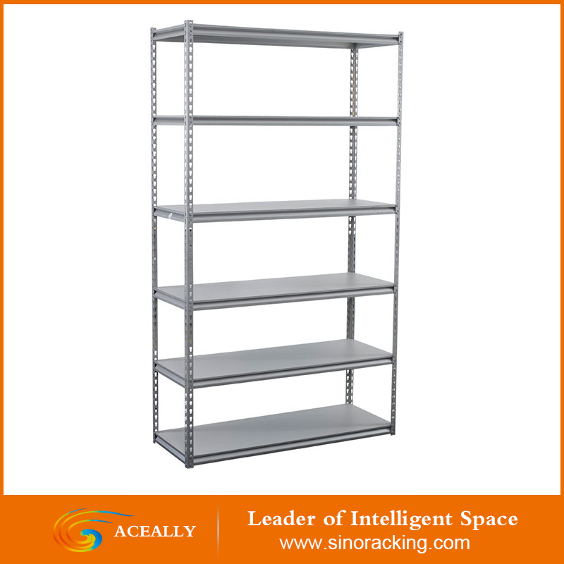 Adjustable warehouse steel garage storage shelves