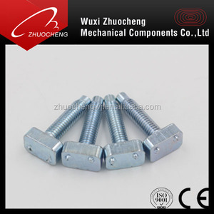 Manufactured OEM cold forging T weld adjustable screw for all size with ISO